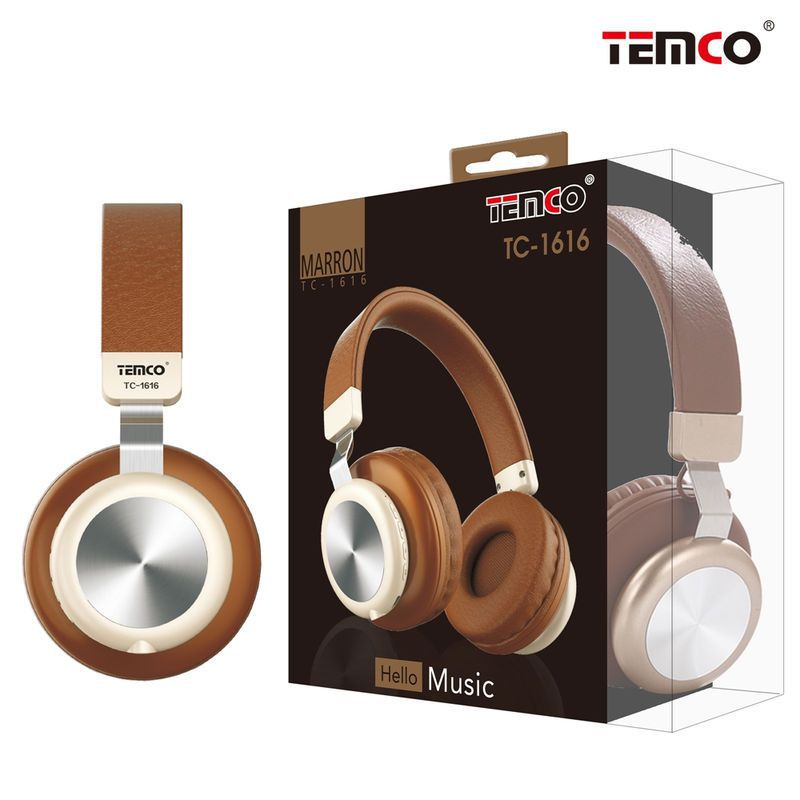 Cascos inalámbricos brown/marrón