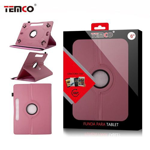 Funda tablet universal 6.0 rosa