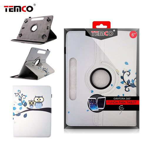 Funda tablet universal 6.0 owls