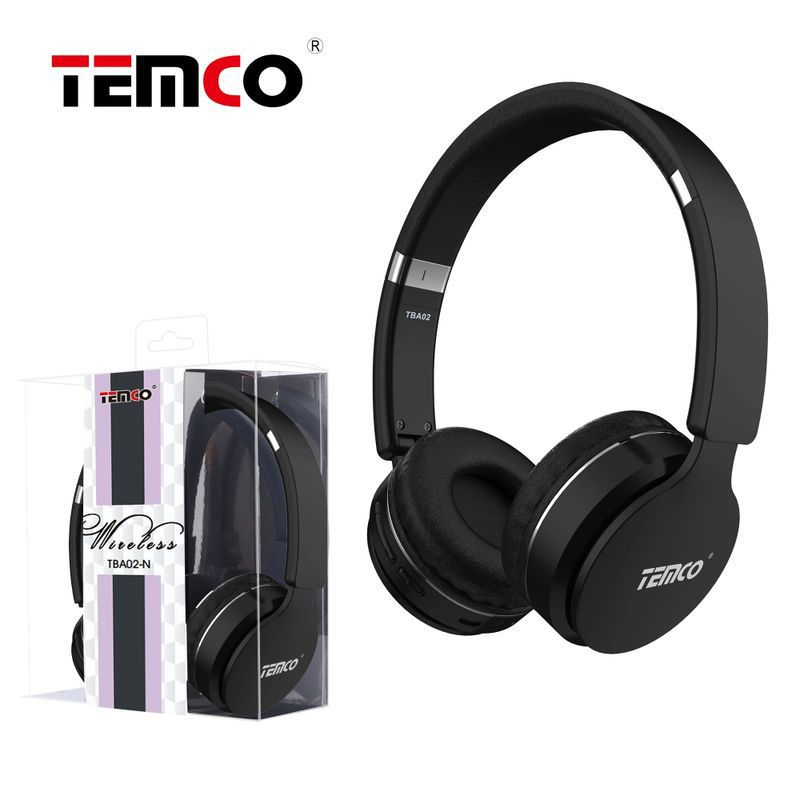 Cascos con cable y bluetooth negro