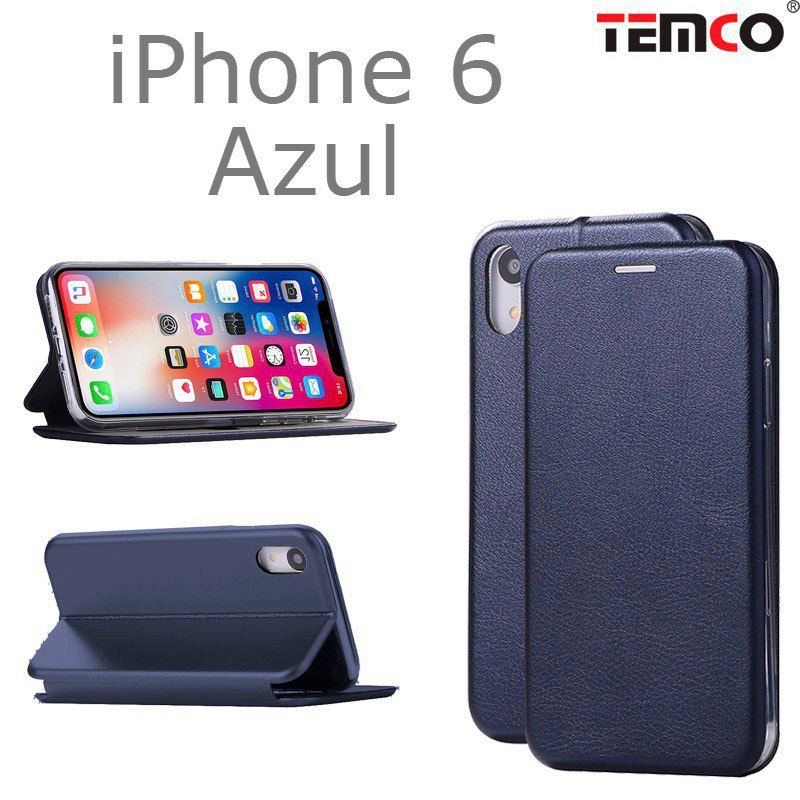 Funda concha iphone 6 azul