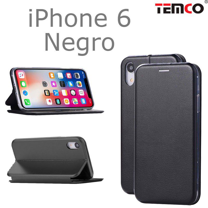 Funda concha iphone 6 negro