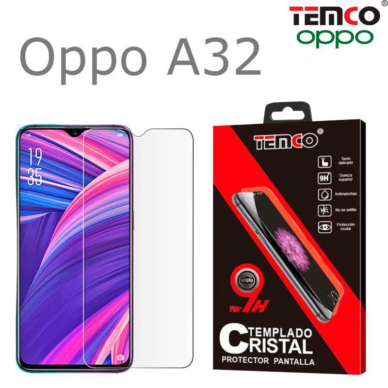 Cristal oppo a32